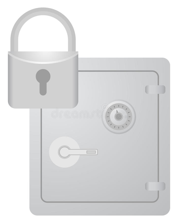 Download Security box stock vector. Image of lock, protection - 30367477