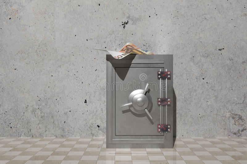 Security box stock illustration