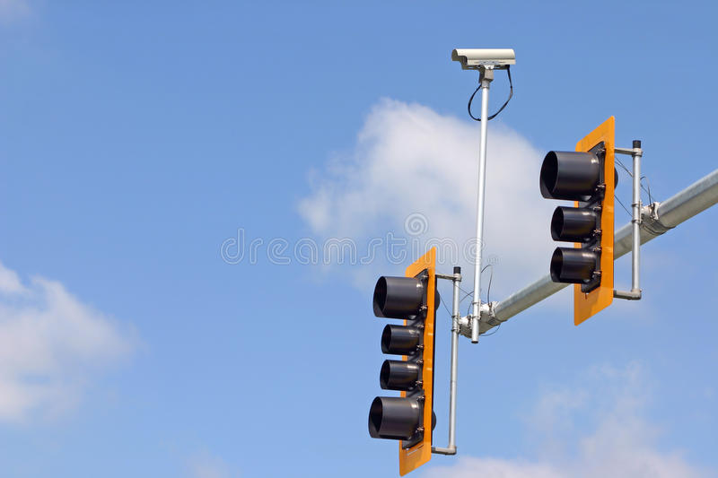 Download Security camera stock image. Image of camera, cloudy - 14762147