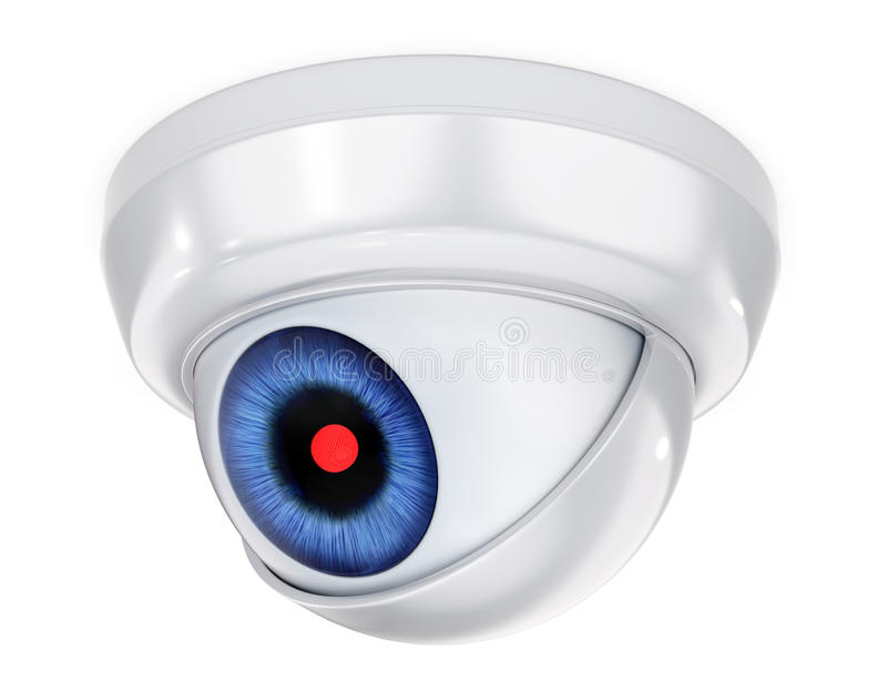 Security Camera royalty free illustration