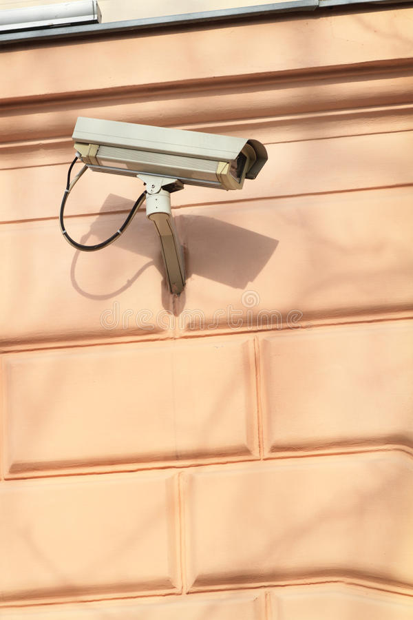 A Security Camera Royalty Free Stock Photography