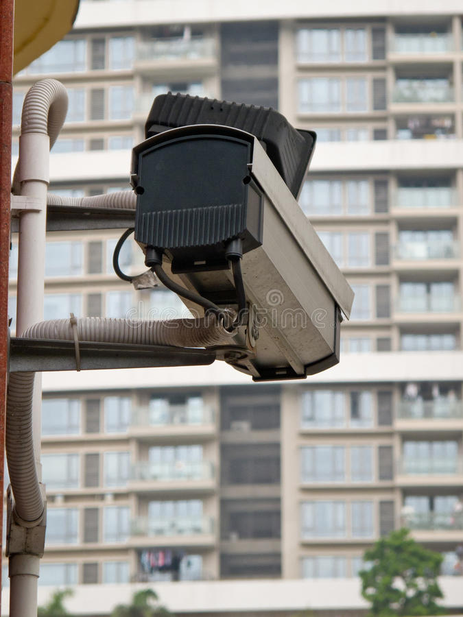 Free Security Camera Royalty Free Stock Photography - 20411037