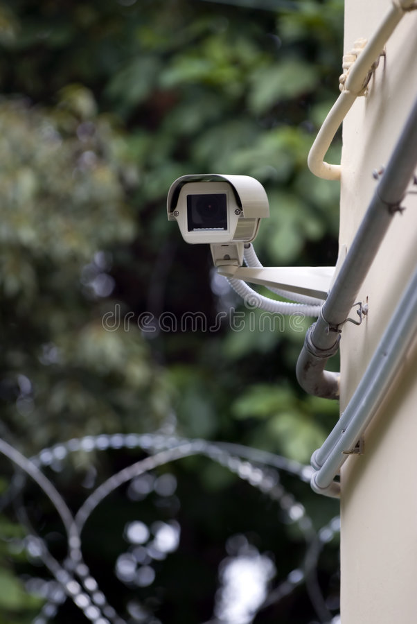 Download Security Camera 3 stock photo. Image of crime, inspection - 1663872