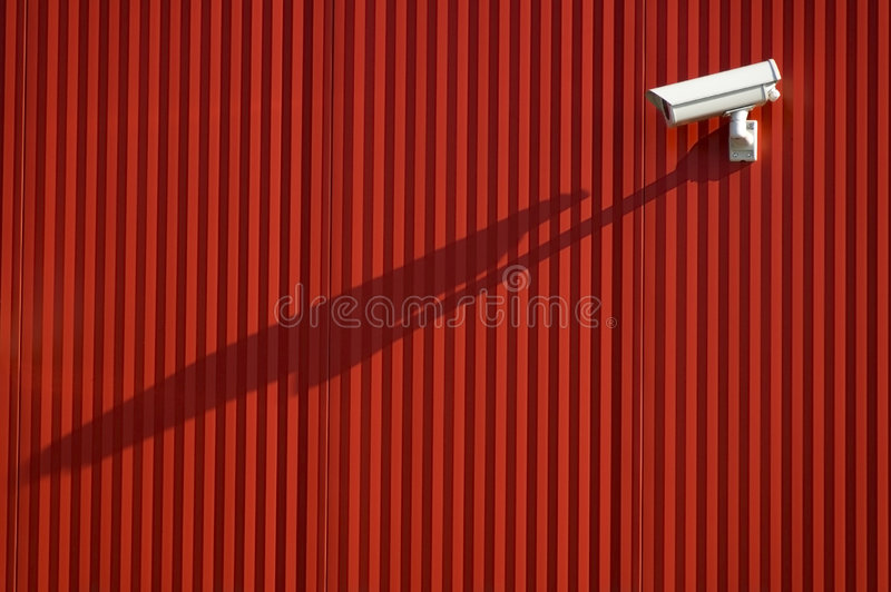 Download Security camera stock image. Image of video, shadowing - 3468577
