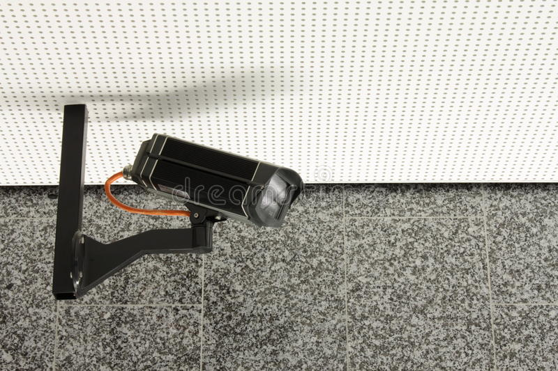 Download Security camera stock image. Image of watching, camera - 9739967