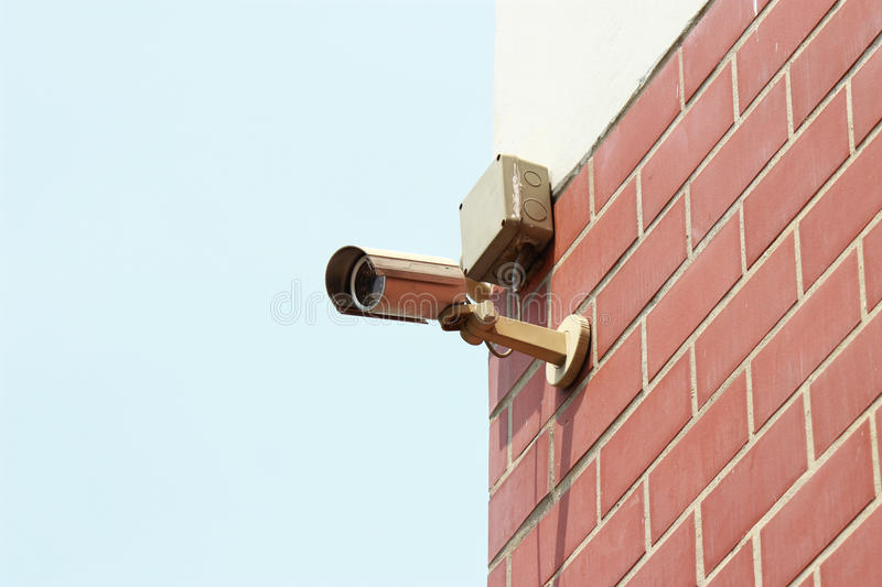Download Security Camera,CCTV Royalty Free Stock Photography - Image: 25803477