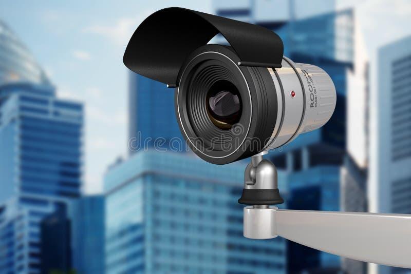 Security camera vector illustration