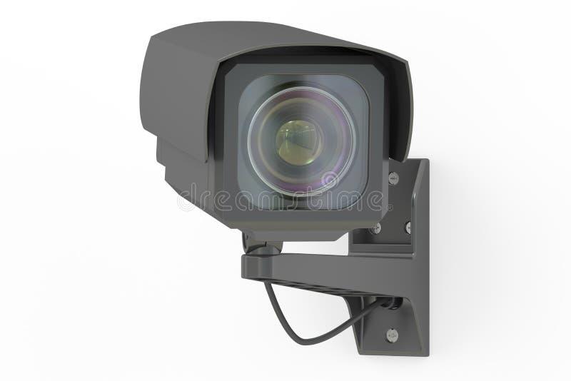 Security camera, 3D rendering vector illustration