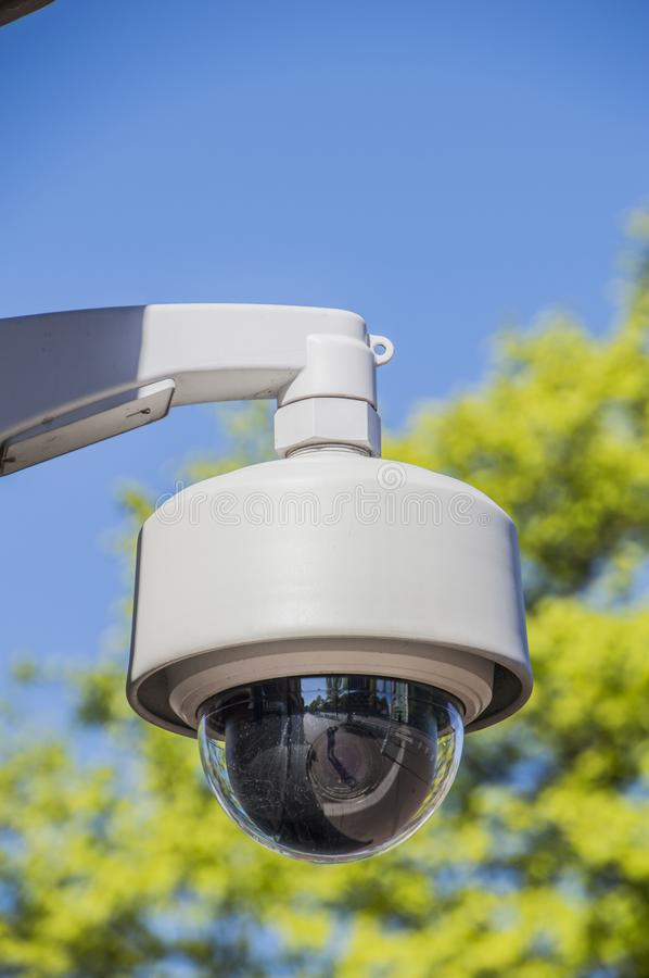 Security Camera Outside royalty free stock photography
