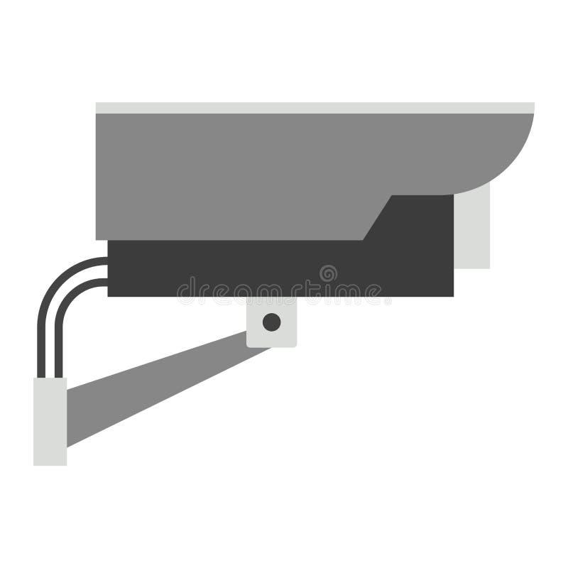 Security camera street icon vector illustration