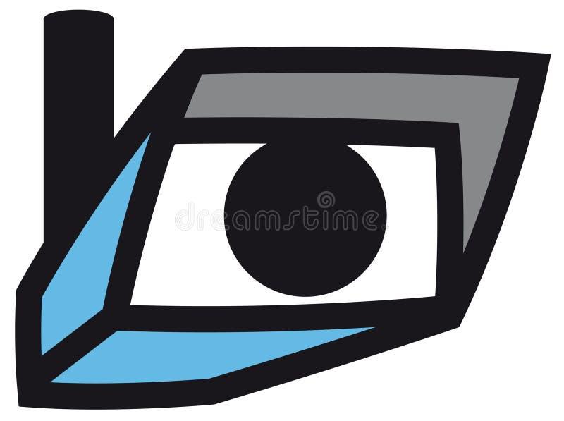 Security Camera Symbol Stock Vector Illustration Of Observing