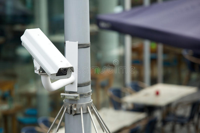 Security camera system royalty free stock photography
