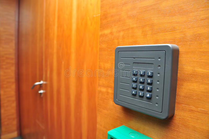 Security Card Entrance Stock Photography