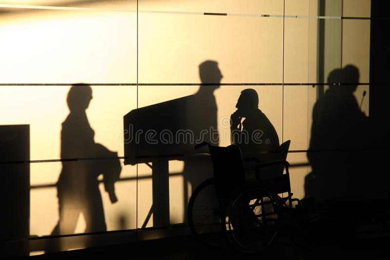 Security Check-in. Security check in at train station royalty free stock photography