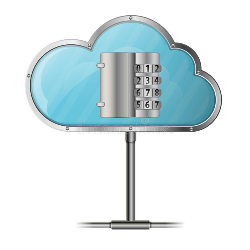 Download Security Cloud Computing Concept Stock Vector - Image: 27638939