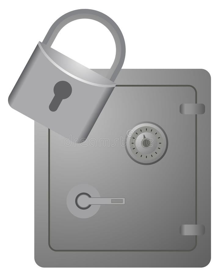 Download Security design stock vector. Image of iron, private - 24668075