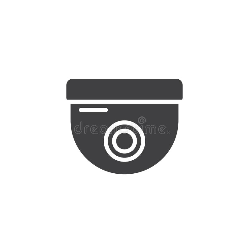 Security Camera Icon Vector Stock Vector Illustration Of