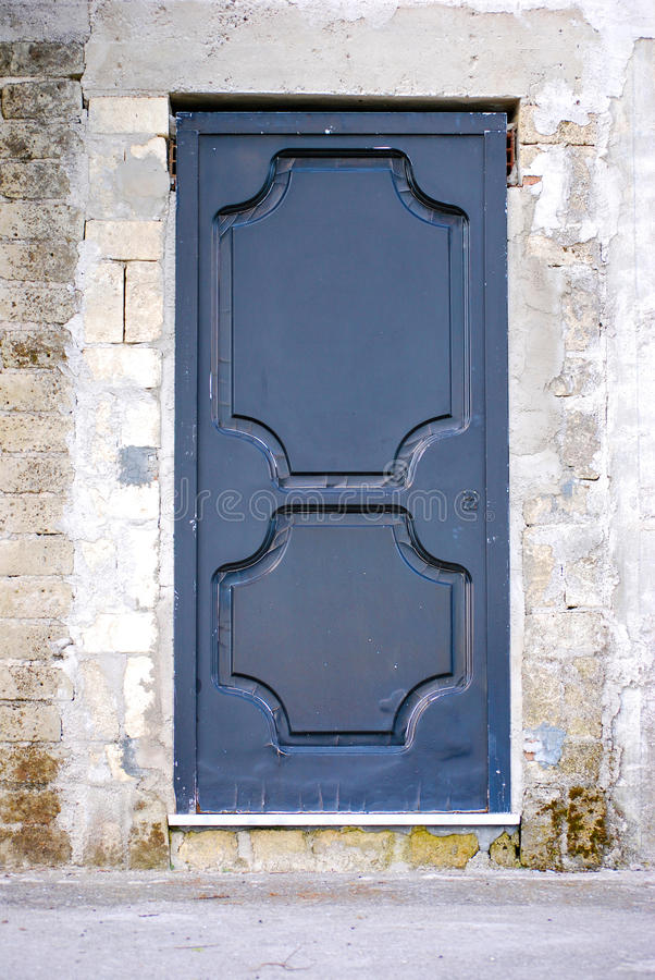Download Security door stock image. Image of iron, front, wall - 39544039