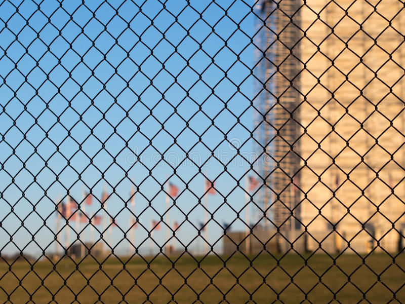 Download Security Fence In Washington Stock Photo - Image: 29802410
