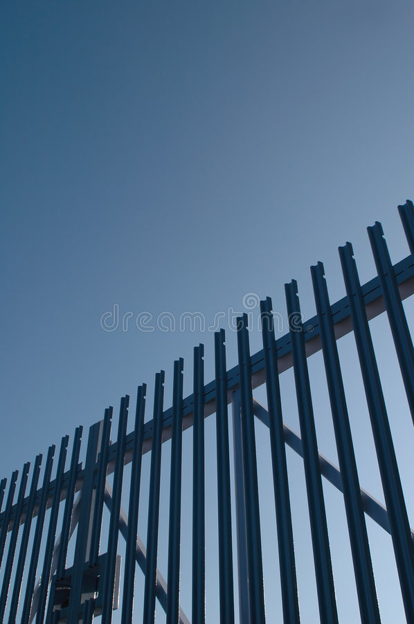Security gates stock photos