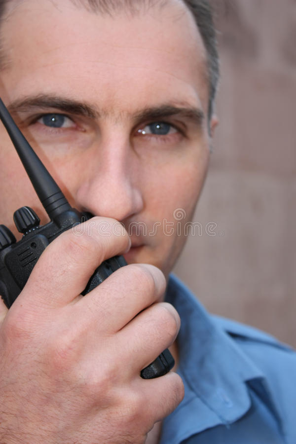 Security Guard Royalty Free Stock Images