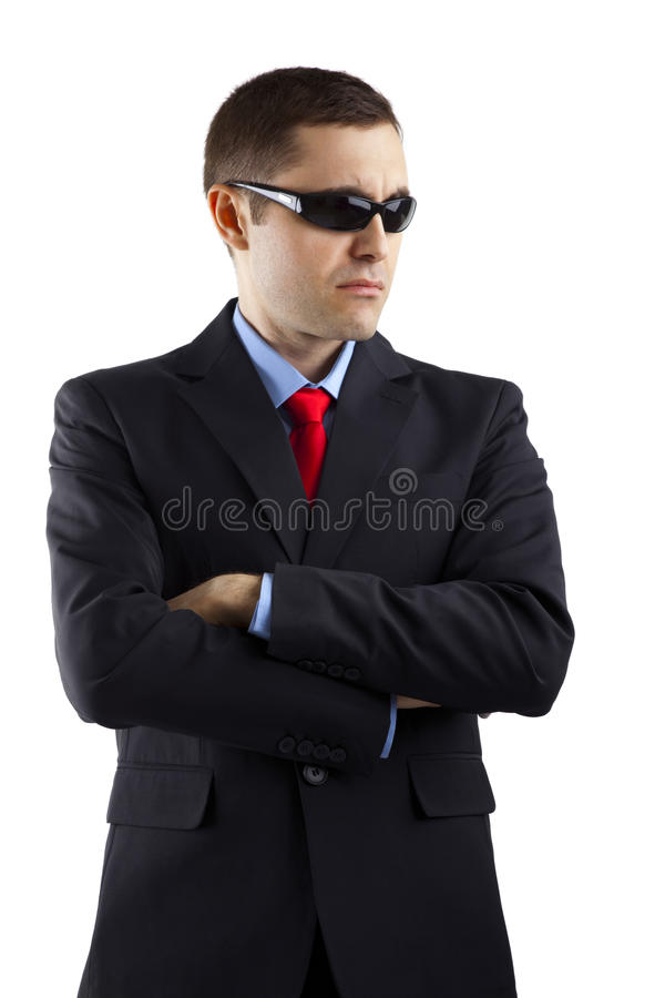 Download Security guard stock image. Image of attentive, short - 16966773