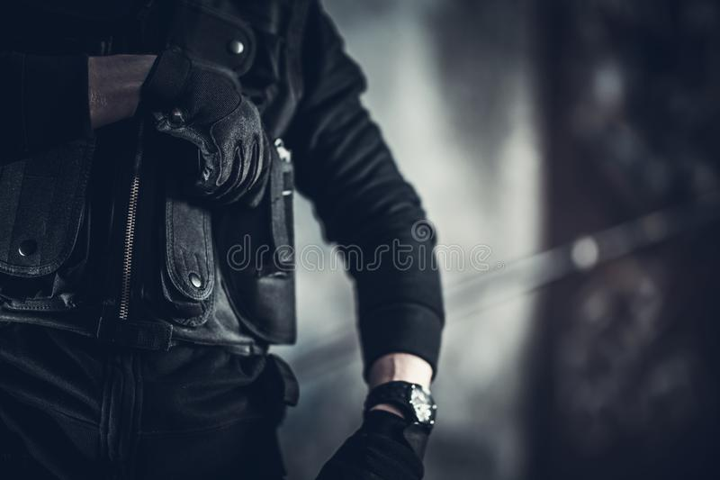 Security Guard Job stock photography