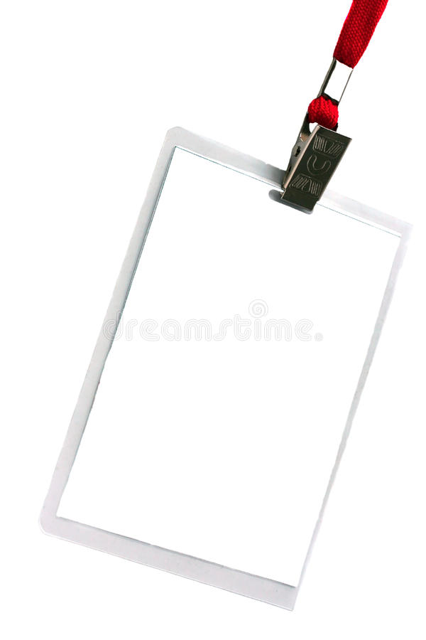 Security ID Pass Stock Image