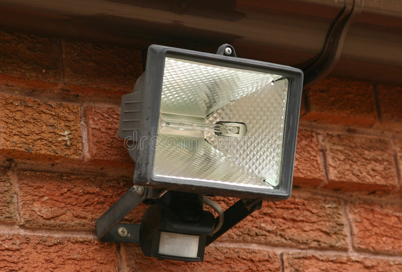 Security Light. A Security Light royalty free stock photography