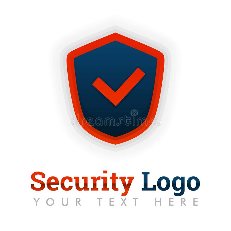 Security logo template for advisor, consultant, antivirus, hacking, safety, software, technology, internet, storage, bug hunter, d. Security logo template for royalty free illustration