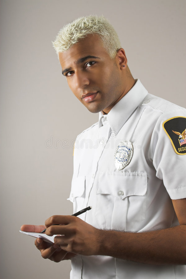 Free Security Officer Royalty Free Stock Image - 3147186