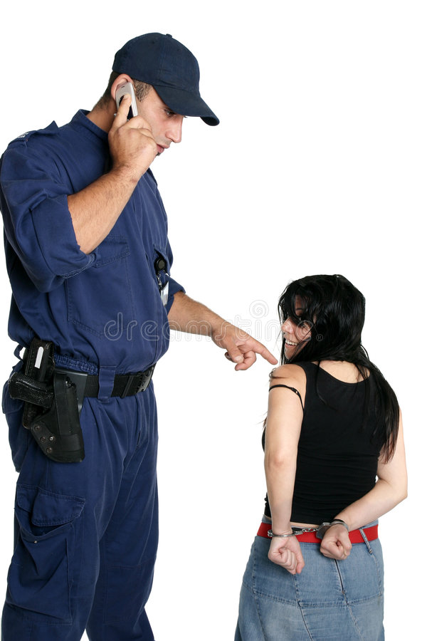 Download Security Officer Calling Police Stock Images - Image: 1736194