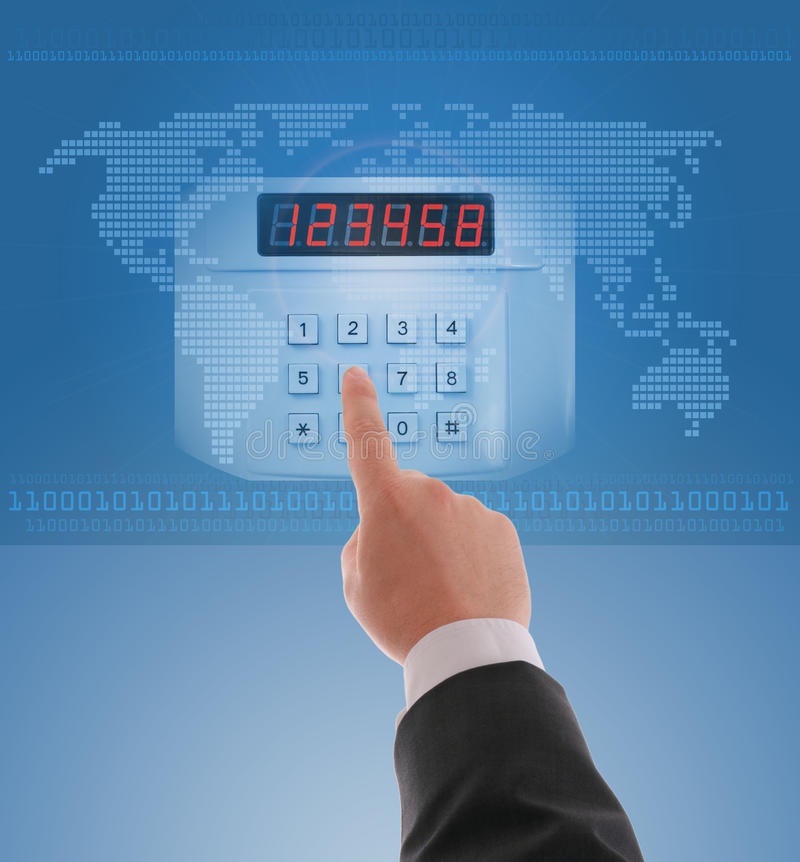 Security and protection in Internet. Concept of security and protection in Internet stock photography