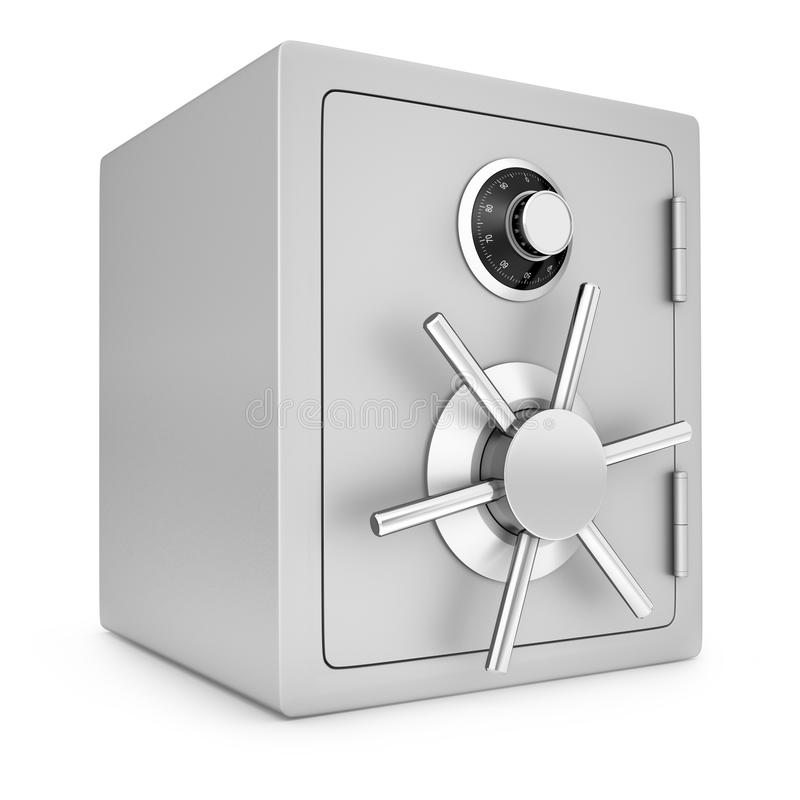 Security safe. Isolated on a white background vector illustration