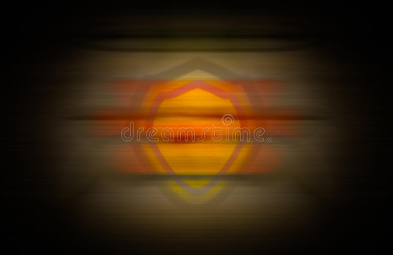A security shield merged into an abstract and seamless background with vignette effects vector illustration