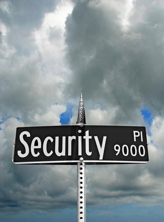 Download Security Sign stock photo. Image of ominous, profit, doom - 4088090