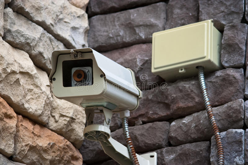 Download Security Surveillance Camera Stock Photo - Image: 14392224