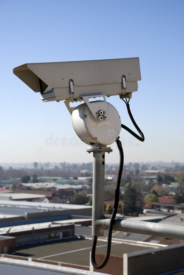 Security Surveillance Camera stock photos