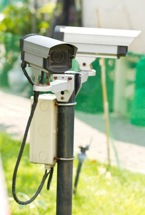 Security Surveillance Camera. stock images