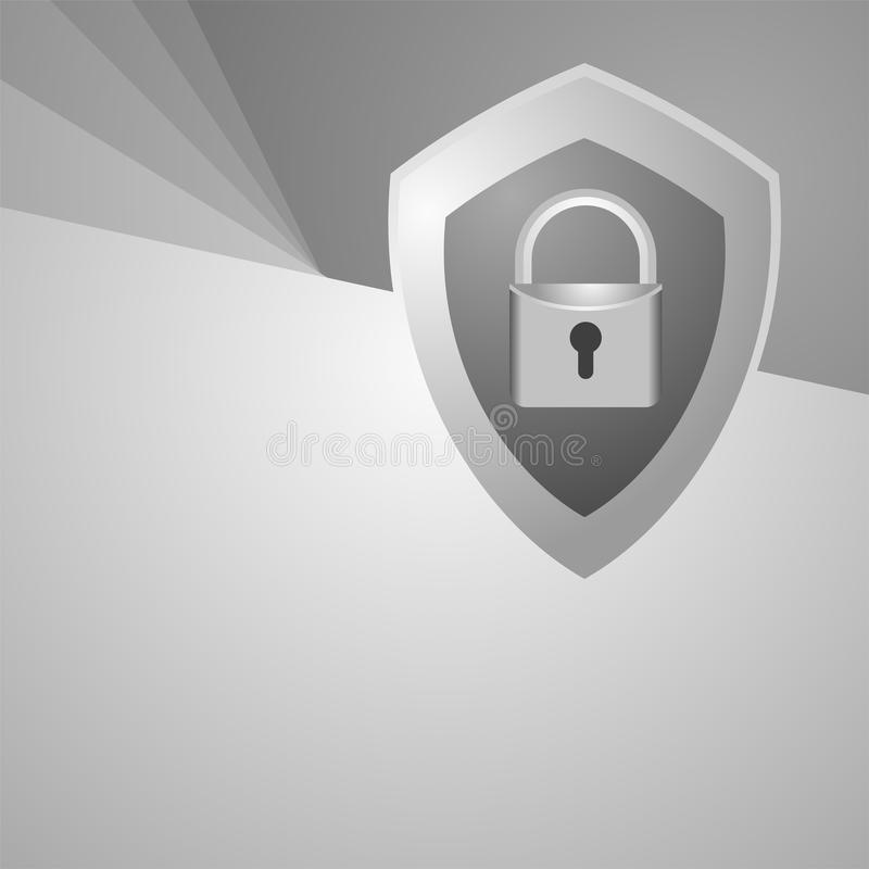 Download Security symbol stock vector. Image of protect, internet - 83718835