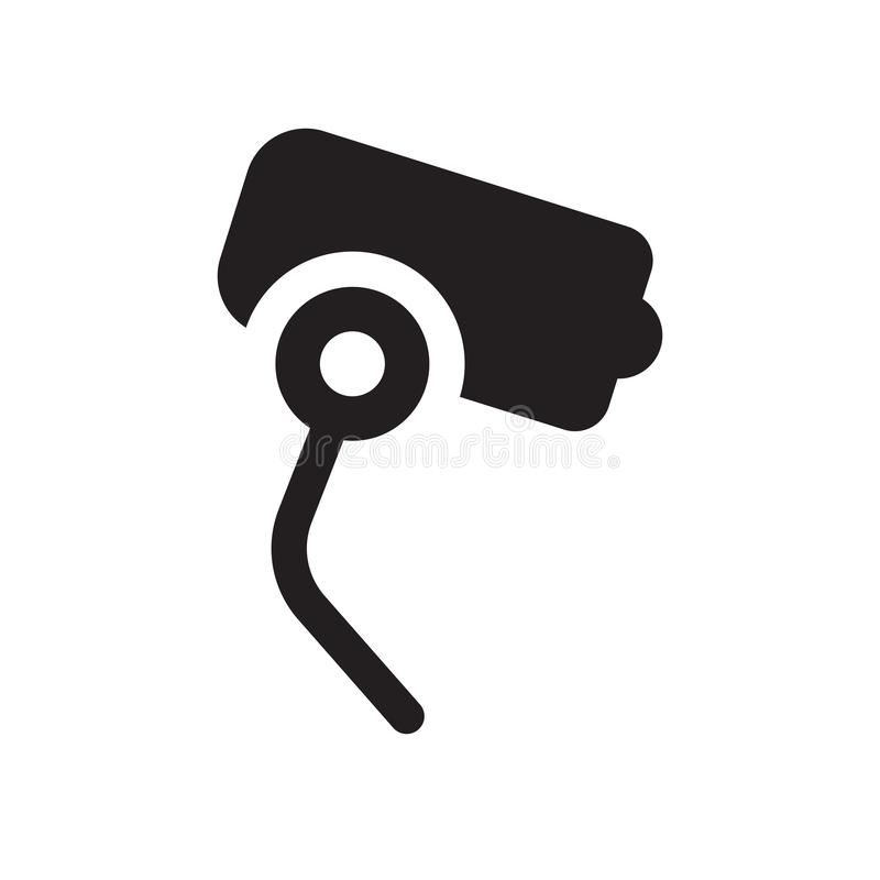 Security system icon. Trendy Security system logo concept on white background from smarthome collection royalty free illustration