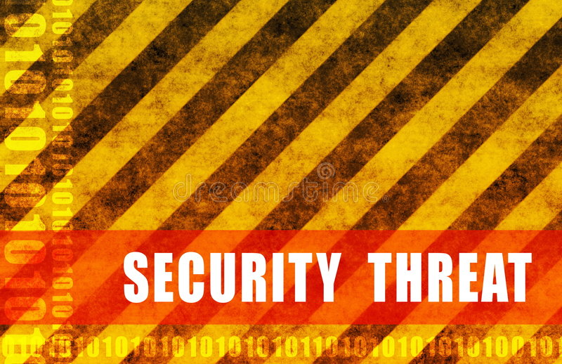 Security Threat royalty free illustration