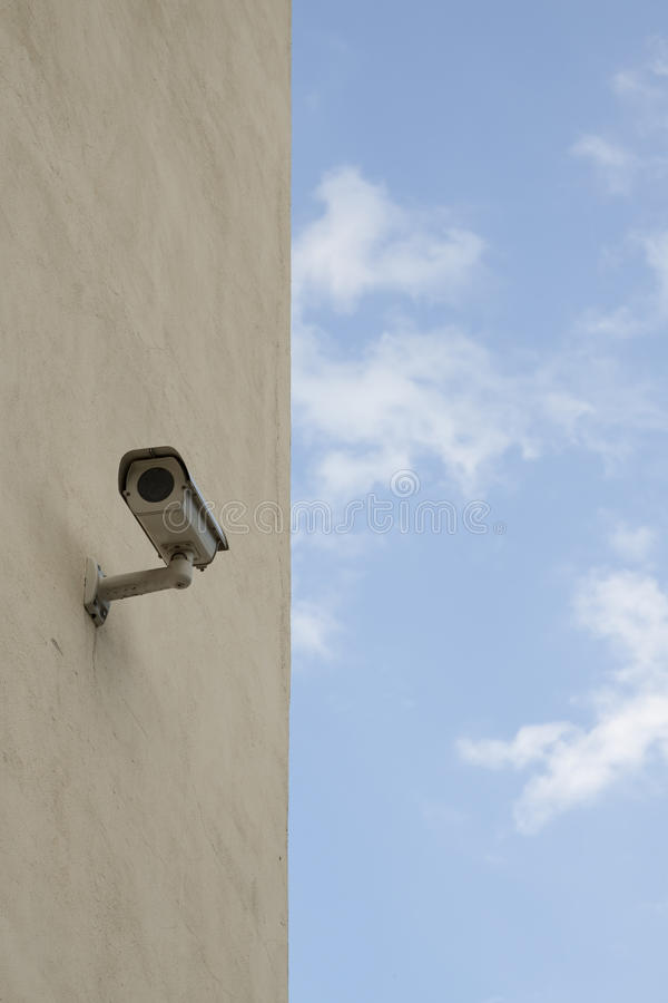 Security Video Camera Stock Image