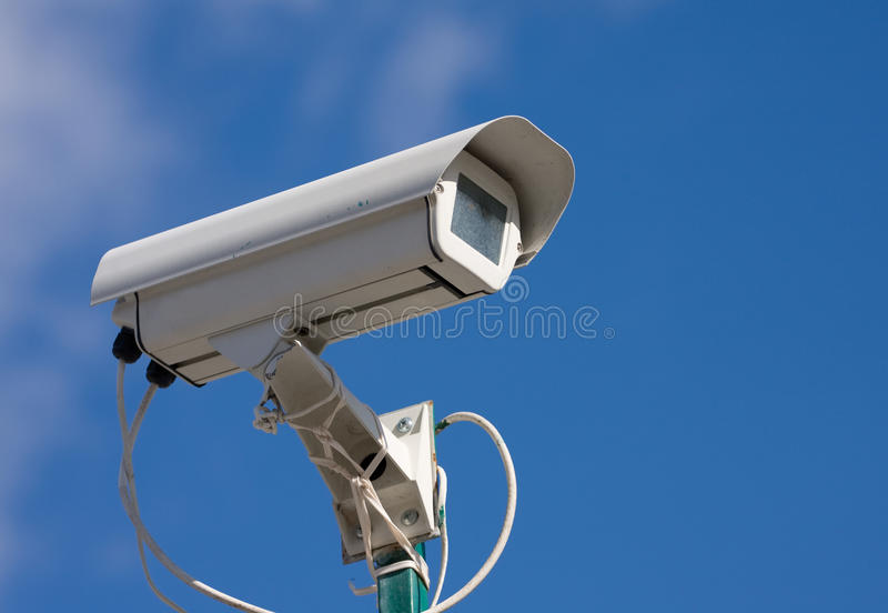 Download Security video camera stock photo. Image of survey, exterior - 9808604