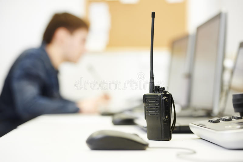 Download Security Video Surveillance Equipment Stock Image - Image of digital, office: 48536357