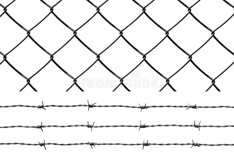 Security Wires Stock Photo