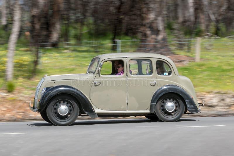 Sedán 1948 de Morris Series E 8 imágenes de archivo libres de regalías