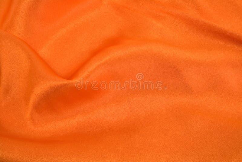Seda anaranjada foto de archivo