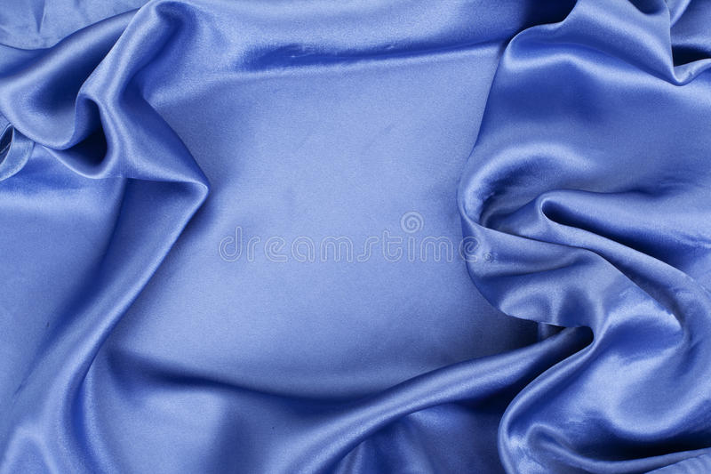 Seda azul elegante lisa fotos de archivo