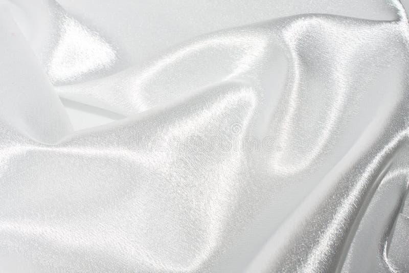 Seda blanca imágenes de archivo libres de regalías